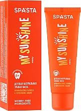 Parfums et Produits cosmétiques Dentifrice naturel anti-caries renforçant l'émail - Spasta My Sunshine