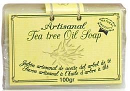 Parfums et Produits cosmétiques Savon artisanal à l'huile d'arbre à thé - Arganour Natural Soap with Tea Tree Oil