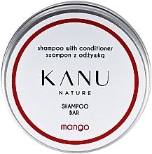 Parfums et Produits cosmétiques Shampooing et après-shampooing solide dans une boîte en métal - Kanu Nature Shampoo With Conditioner Shampoo Bar Mango