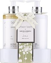 Parfums et Produits cosmétiques Coffret cadeau - Baylis & Harding Urban Barn Lime Basil & Mint (h/wash/300ml + h/cr/300ml)
