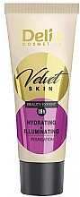 Parfums et Produits cosmétiques Fond de teint-crème et correcteur hydratant - Delia Mineral Velvet Skin