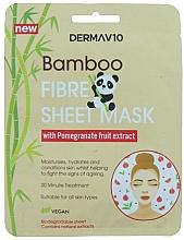 Parfums et Produits cosmétiques Masque tissu à l'extrait de grenade pour visage - Derma V10