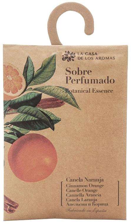 Sachet parfumé, Orange et Cannelle - La Casa de Los Botanical Essence Cinnamon Orange