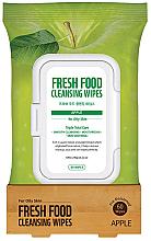 Parfums et Produits cosmétiques Lingettes nettoyantes à l'extrait de pomme pour visage - Superfood For Skin Facial Cleansing Wipes Apple