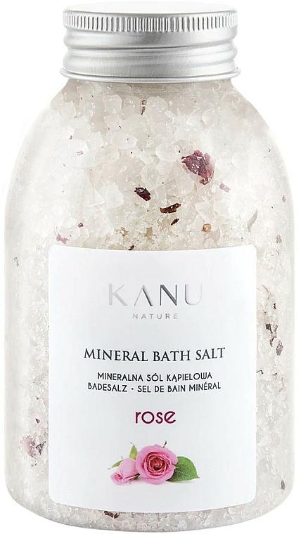 Sel de bain minéral Rose - Kanu Nature Rose Mineral Bath Salt