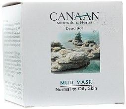 Parfums et Produits cosmétiques Masque à la boue de la mer Morte pour visage - Canaan Minerals & Herbs Mud Mask Normal to Oily Skin