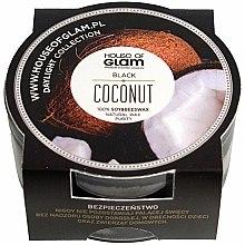 Parfums et Produits cosmétiques Bougie parfumée de soja et cire d'abeille - House of Glam Black Coconut Candle (mini)