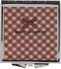 Parfums et Produits cosmétiques Miroir de poche 85604, 6 cm, motif carreaux - Top Choice Beauty Collection Mirror