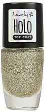 Parfums et Produits cosmétiques Top coat aux particules scintillantes - Lovely Holo Top Coat