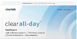 Parfums et Produits cosmétiques Lentilles de contact, 3pcs - Clearlab Clear All-day