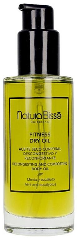 Huile sèche réconfortante à la menthe et eucalyptus pour corps - Natura Bisse Fitness Dry Oil — Photo N1