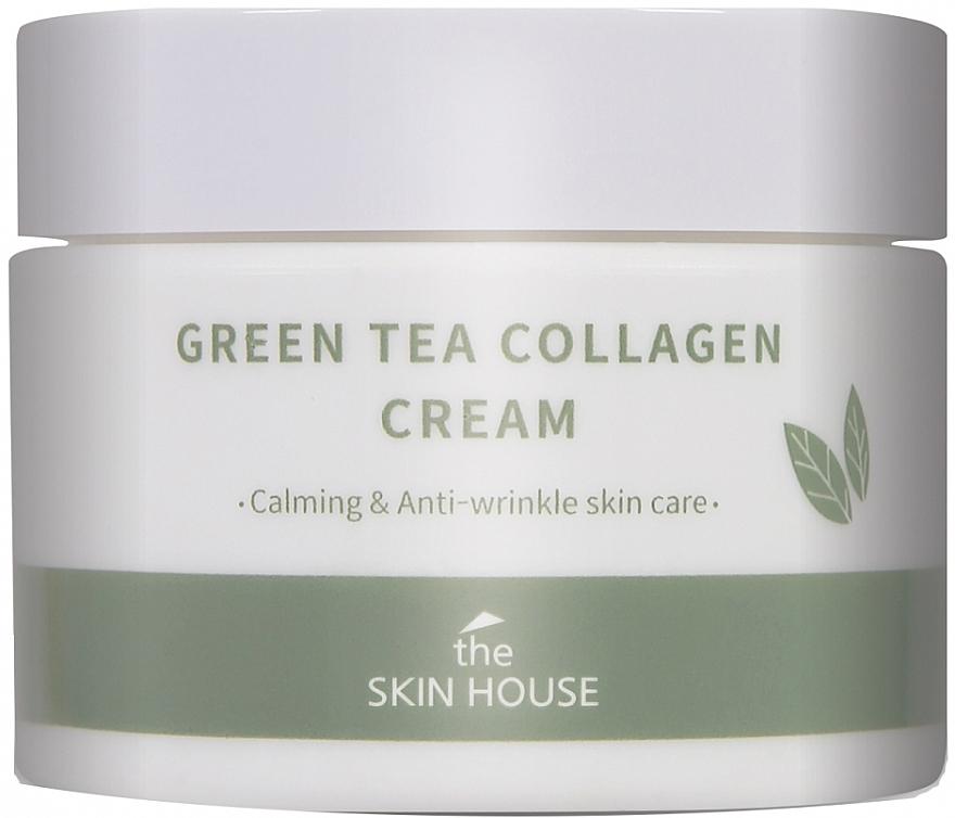 Crème au thé vert et collagène pour visage - The Skin House Green Tea Collagen Cream — Photo N1