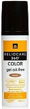 Parfums et Produits cosmétiques Gel solaire SPF 50+ - Cantabria Labs Heliocare 360 Gel Oil Free Color