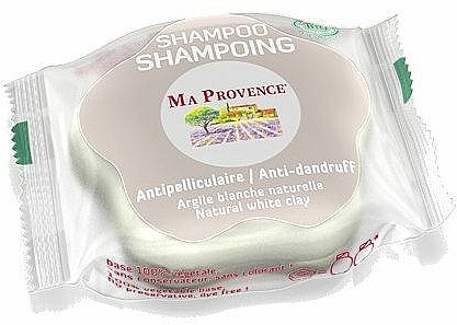 Shampooing solide anti-pelliculaire à l'argile blanche naturelle - Ma Provence Shampoo — Photo N1