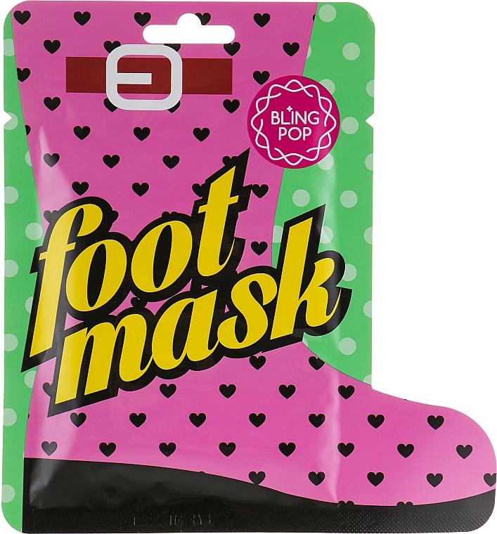 Masque au beurre de karité pour pieds - Bling Pop Shea Butter Healing Foot Mask
