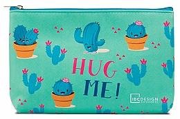 Parfums et Produits cosmétiques Trousse de toilette avec des cactus - IDC Design Accessories Cosmetig Bag