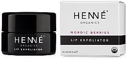 Parfums et Produits cosmétiques Gommage aux baies nordiques pour lèvres - Henne Organics Nordic Berries Lip Exfoliator