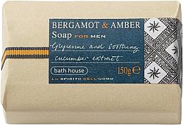 Parfums et Produits cosmétiques Bath House Bergamot & Amber - Savon parfumé, Bergamote et Ambre