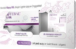 Parfums et Produits cosmétiques Biotebal - Set (sérum pour cils/3ml + gel pour contour des yeux et paupières/15ml)