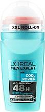 Parfums et Produits cosmétiques Déodorant roll-on au menthol - L'Oreal Paris Men Expert Cool Power Deodorant Roll-on