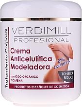 Parfums et Produits cosmétiques Crème anti-cellulite à la caféine pour corps - Verdimill Professional Anti-Cellulite Cream
