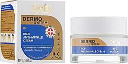Parfums et Produits cosmétiques Crème de jour et nuit anti-rides au beurre de karité - Delia Dermo System Rich Anti-Wrinkle Cream