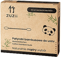 Parfums et Produits cosmétiques Coton-tiges en bambou - Zuzii Bamboo Cotton Buds