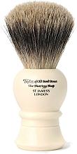 Parfums et Produits cosmétiques Blaireau de rasage, 9.5 cm, P1020 - Taylor of Old Bond Street Shaving Brush Pure Badger Size S
