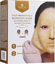 Parfums et Produits cosmétiques Masque peel-off à l'huile de raisin pour visage - Shangpree Gold Premium Modeling Mask