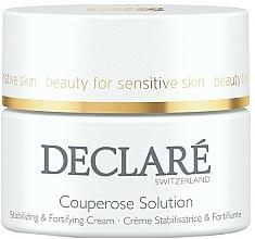 Crème anti-couperose au beurre de karité pour visage - Declare Couperose Solution Stabilizing & Fortifying Cream — Photo N1
