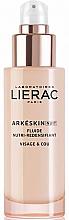 Parfums et Produits cosmétiques Fluide à l'acide hyaluronique pour visage et cou - Lierac Arkeskin Night Fluide Nutri-redensifiant
