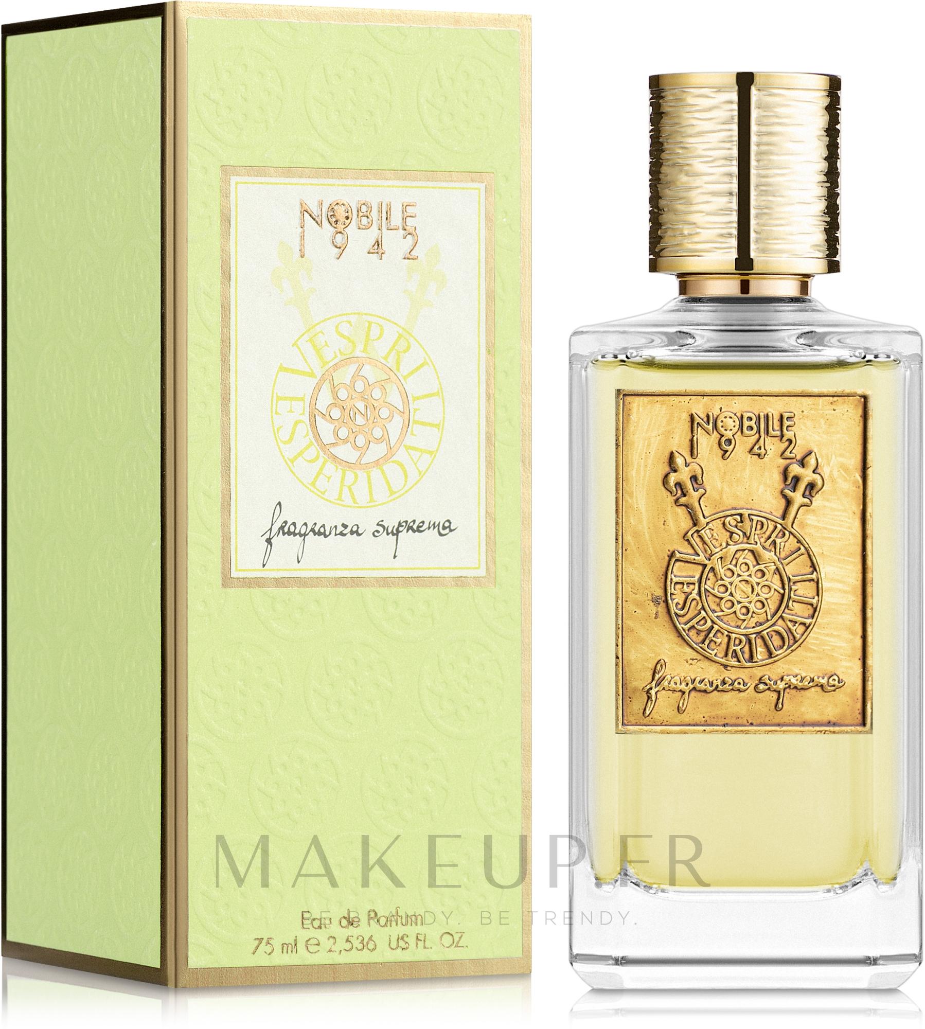 Nobile 1942 Vespriesperidati Gold - Eau de Parfum — Photo 75 ml