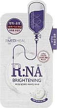 Parfums et Produits cosmétiques Masque tissu éclaircissant aux acides aminés pour visage - Mediheal R:NA Whitening Proatin Mask