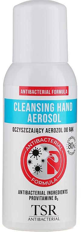 Spray antibactérien à la provitamine B5 pour mains - TSR Antibacterial Cleansing Hand Aerosol