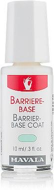 Base-soin pour ongles délicats - Mavala Barrier-Base Coat — Photo N1
