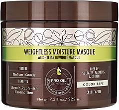Parfums et Produits cosmétiques Masque à l'huile d'argan et macadamia pour cheveux - Macadamia Professional Natural Oil Weightless Moisture Masque