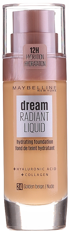 Base de teint - Maybelline New York Dream Radiant Liquid Hydrating Foundation