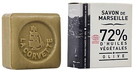 Savon de Marseille à l'huile d'olive - La Corvette Savon de Marseille Olive — Photo N1