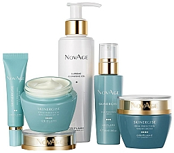 Parfums et Produits cosmétiques Oriflame NovAge Skinergise Set - Coffret soin visage(gel/150ml+crème yeux/15ml+sérum/30ml+crème de jour/50ml+crème de nuit/50ml)