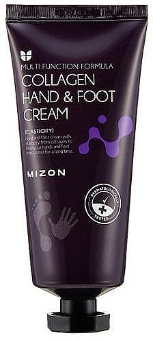 Crème au collagène pour mains et pieds - Mizon Collagen Hand And Foot Cream