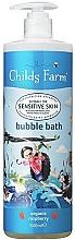 Parfums et Produits cosmétiques Mousse de bain à l'extrait de framboise bio - Childs Farm Organic Raspberry Bubble Bath