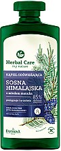 Parfums et Produits cosmétiques Gel douche et bain rafraîchissant au pin de l'Himalaya et miel de Manuka - Farmona Herbal Care