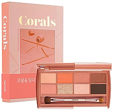 Parfums et Produits cosmétiques Palette de fards à paupières - Heimish Dailism Eye Palette Coral Essay