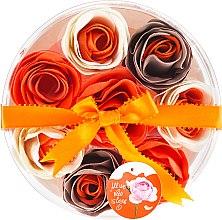 Parfums et Produits cosmétiques Confettis de savon parfumés à l'orange , 8 pcs - Spa Moments Bath Confetti Orange
