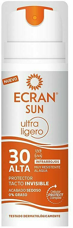 Spray solaire invisible pour corps SPF 30 - Ecran Sun Ultralight Invisible Protector Spray Spf30 — Photo N1