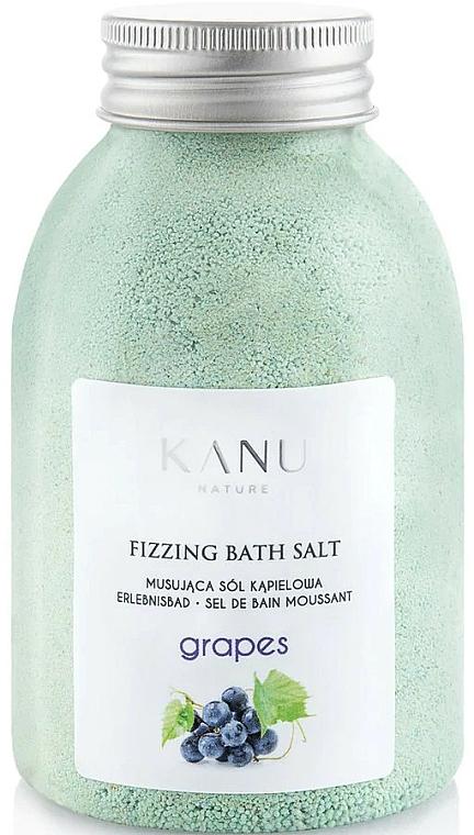 Sel de bain moussant Raisin - Kanu Nature Grapes Fizzing Bath Salt