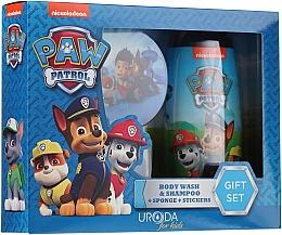 Parfums et Produits cosmétiques Coffret cadeau - Uroda Paw Patrol Boy (sh/gel/250ml + sponge + stickers)