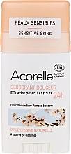 Parfums et Produits cosmétiques Déodorant stick pour peaux sensibles - Acorelle Deodorant Stick Gel Almond Blossom