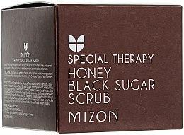 Parfums et Produits cosmétiques Gommage au sucre noir et miel pour visage - Mizon Honey Black Sugar Scrub