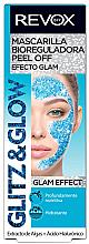 Parfums et Produits cosmétiques Masque peel-off à l'extrait d'algues pour visage - Revox Glitz & Glow Bio Regulating Peel Off Mask Blue